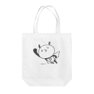おちゃめな大阪パンダーマン Tote bags