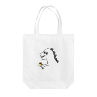 ナルカミキラの恐竜 Tote bags