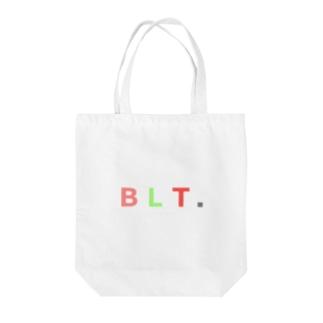 ベーコンレタストマト Tote bags