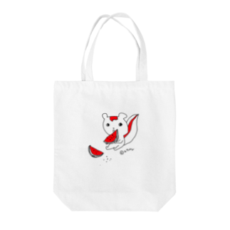 YuwarurE【ユワルレ】のカジカジスsuika Tote bags