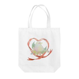 小鳥ちゃん Tote bags