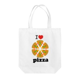 アイラブ☆ピザ Tote Bag
