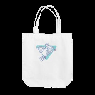 坂本の牛ガール Tote bags