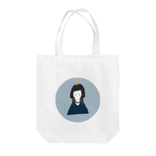 エジプトガール Tote bags