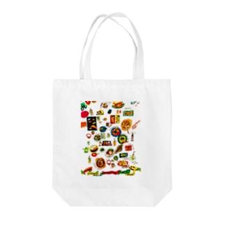 日本食 Tote bags