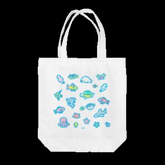 いちばんSHOPのうみのなかま Tote bags