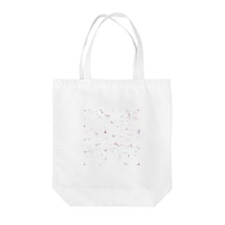 牛乳ビンのマモノ(恋) Tote bags