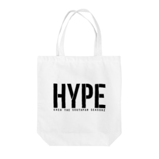 HYPEロゴ Tote bags