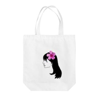 華子さん Tote bags