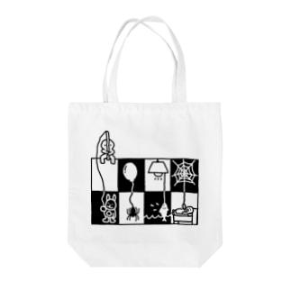 モノクロ・クロス トートバッグ Tote bags
