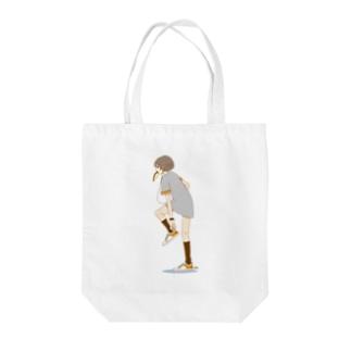 パン食い女子 Tote bags