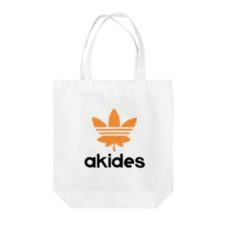 akides 秋です Tote bags