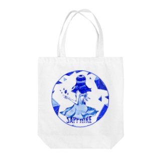 sapphire Tote bags