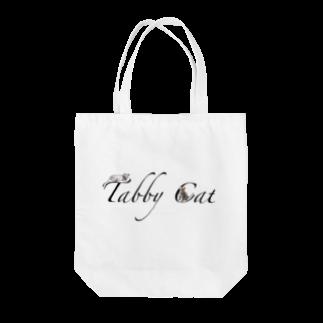 ちばっちょ【ち畳工房&猫ねこパラダイス】のトラ猫文字 Tote bags