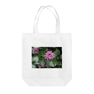 小さな花 Tote bags