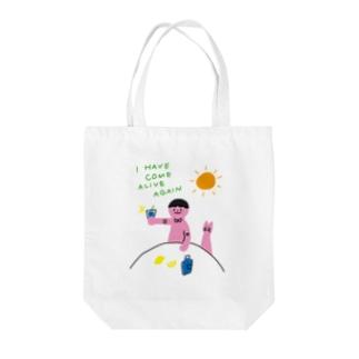 レモン夏 Tote bags
