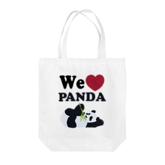 we love パンダ Tote Bag