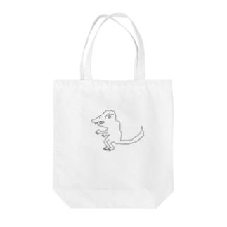 うろ覚えティラノサウルス Tote bags
