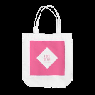 吉田屋のFREE HUGS(フリーハグ)【ダイヤ】 Tote bags