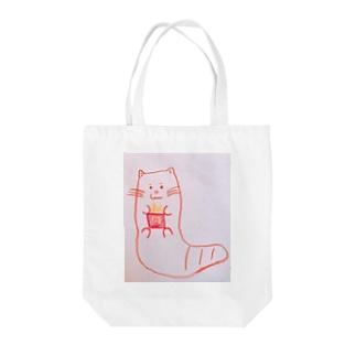 エモいカワウソ Tote bags