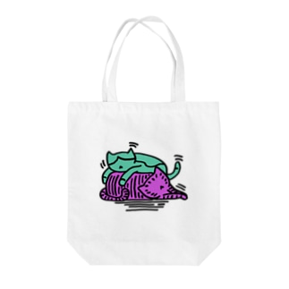 boring Cats Tote bags