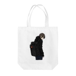 ペキ男 Tote bags