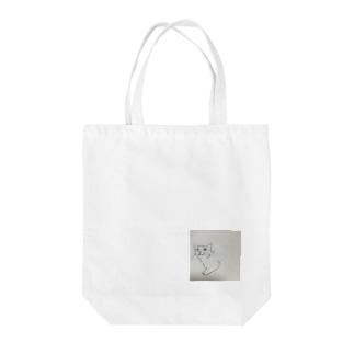 ニャンコさん Tote bags