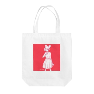 「 Dress up 」 Tote bags