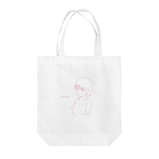 「a boy 」 Tote bags