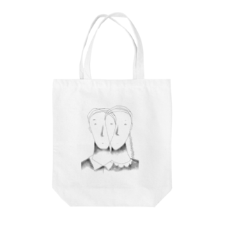 高松直人のBoy And You Tote bags