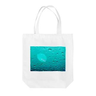 水滴に一片 Tote bags