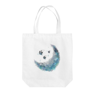 AQUARIUMOON Tote bags