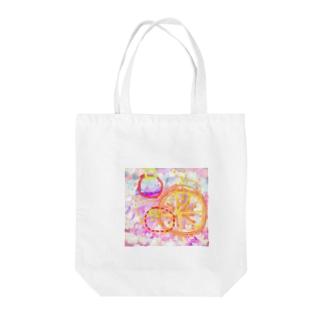サマーなフルーツ Tote bags