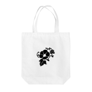 アサガオ Tote bags