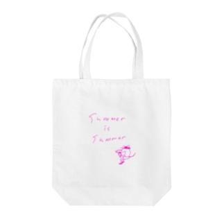 サマーイズサマー Tote bags