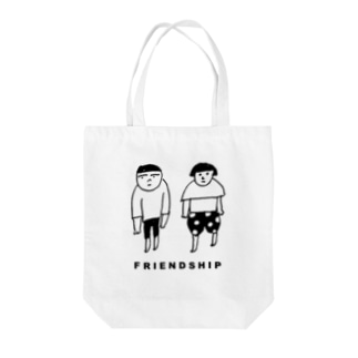 FRIENDSHIP Tote bags