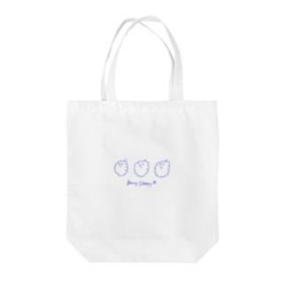 Berry Sleepy(ラズベリー) Tote bags