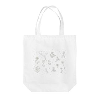 春のお花 Tote bags