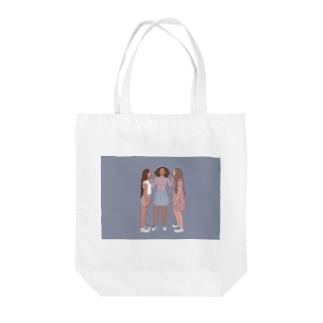 """girls"" Tote bags"