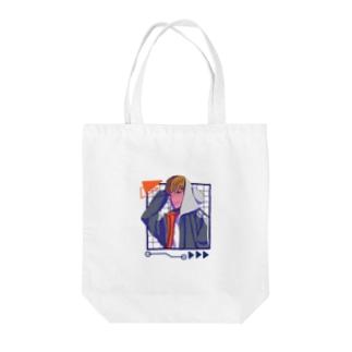 レオン△▼△▼ Tote bags