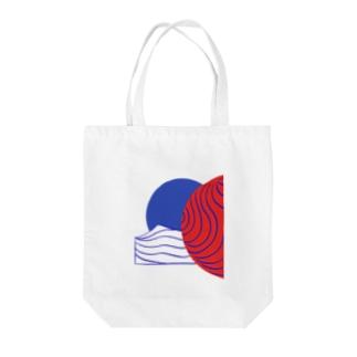 ハルマギ Tote bags