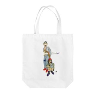 ブッチューシリーズ Tote bags