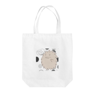 "A living hairball ""DON"" Tote bags"