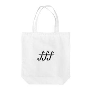 てぃてぃてぃ Tote bags