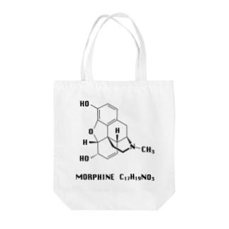 モルヒネ Morphine Tote bags