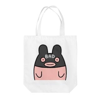 BADなうさぎちゃん Tote bags
