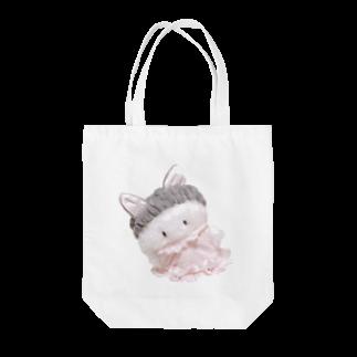 めるめるぽんぽんおみせやさんのmerunyan Tote bags