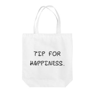 幸せのヒントとは Tote bags