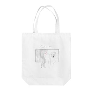 メンヘラ女子 Tote bags