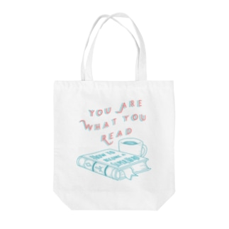 BOOKWORM Tote bags